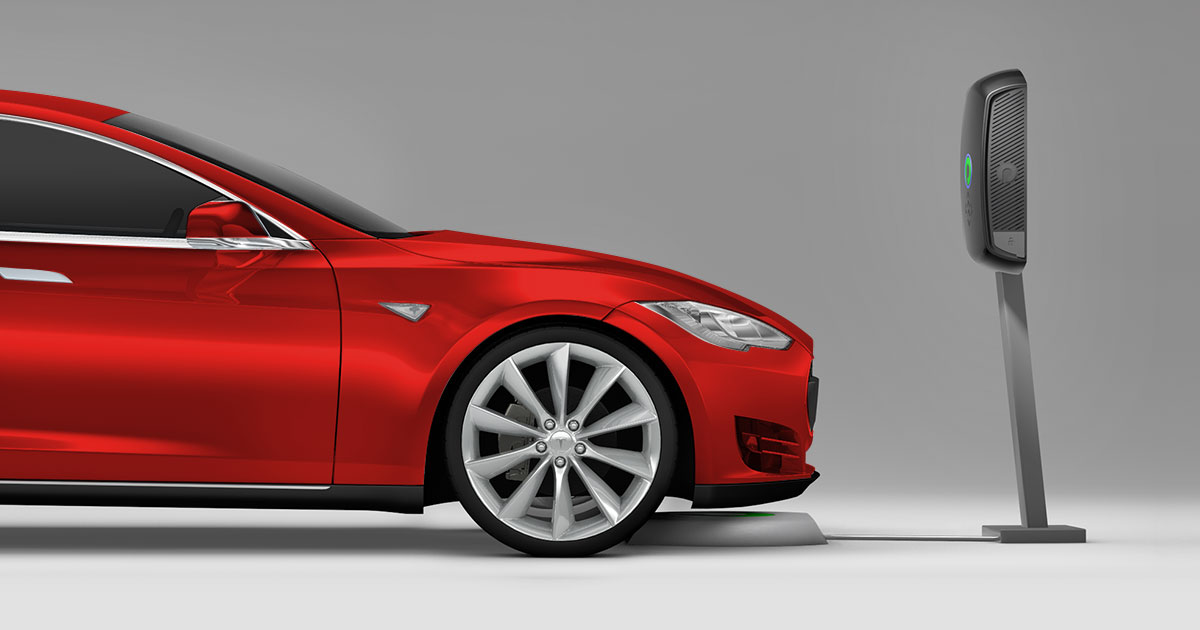 Wireless Charging Upgrade for Tesla Model S | Plugless