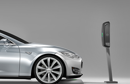 Wireless Charging Upgrade Station For Tesla Model S